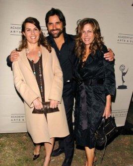 Nia Vardalos with John Stamos and Rita Wilson
