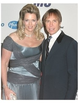Nancy Davis and Tommy Hilfiger
