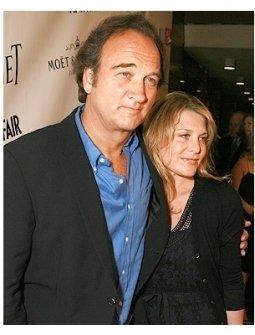 James Belushi and Jennifer Sloan