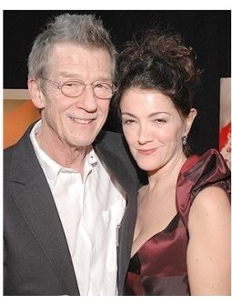 V for Vendetta Premiere Photos: John Hurt and wife Anwen Rees-Meyers