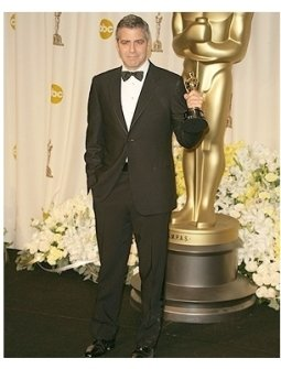 78th Annual Academy Awards Press Room Photos:  George Clooney