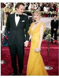 78th Annual Academy Awards Red Carpet Photos:  Heath Ledger and Michelle Williams