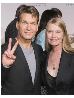 Rodeo Drive Walk Of Style: Patrick Swayze and wife Lisa