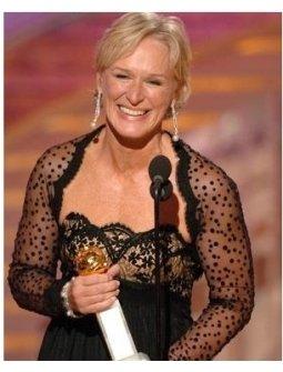 Glenn Close at the 62nd Golden Globe Awards
