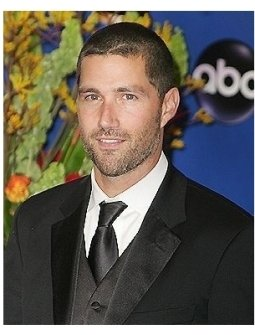Matthew Fox backstage at the 2004 Emmy Awards