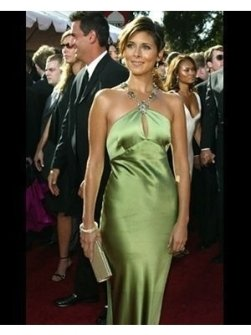 Jamie-Lynn DiScala on the Red Carpet at the 2004 Primetime Emmy Awards