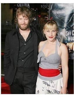 Tom Jane and Patricia Arquette at the Sky Captain and the World of Tomorrow Premiere