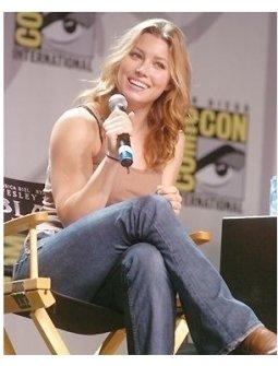 Jessica Biehl at Comic-Con 2004