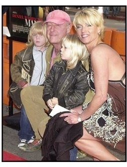 "Director Tony Scott and his family at the ""Man on Fire"" Premiere"