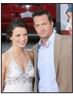 """Matthew Perry and Rachel Dunn at """"The Whole Ten Yards"""" Premiere"""