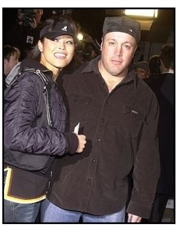 """Kevin James and date at the """"Welcome to Mooseport"""" Premiere"""