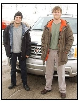 Mark Ruffalo and Peter Krause at Sundance-ONE TIME USE ONLY