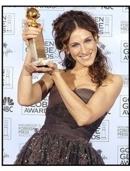 61st Annual Golden Globe Awards--Backstage--Sarah Jessica Parker--HFPA--ONE TIME USE ONLY