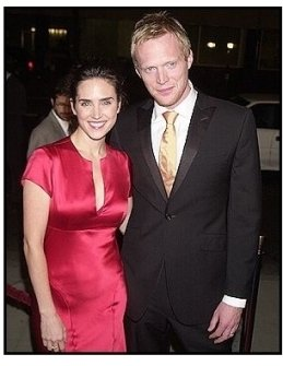 "Paul Bettany and Jennifer Connelly at the ""Master and Commander"" premiere"