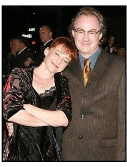 """ONE TIME USE ONLY: John Billingsley and date at the """"Out of Time"""" Premiere"""