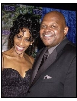 Charles Dutton adn Benita at the HBO party following the 55th Annual Primetime Emmy Awards
