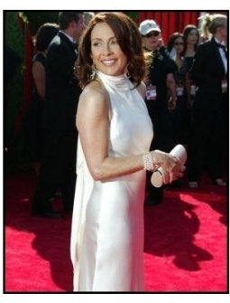 Patricia Heaton on the red carpet at the 2003 Emmy Awards