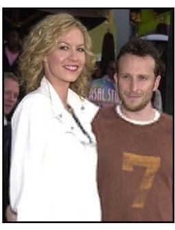 "Jenna and Bodhi Elfman at the ""Bruce Almighty"" premiere"