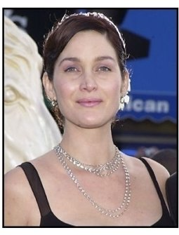 """Carrie-Anne Moss at """"The Matrix Reloaded"""" premiere"""