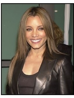 "Michael Michele at the ""Dark Blue"" premiere"