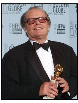 2003 Golden Globe Awards Backstage: Jack Nicholson