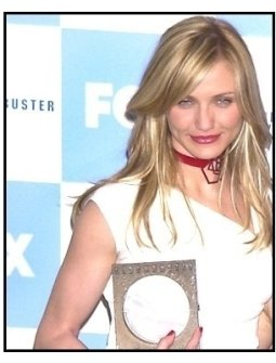 Cameron Diaz Looks: Cameron Diaz 2001 at the Blockbuster Awards