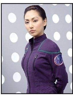 Enterprise: Linda Park as Ensign Hoshi Sato