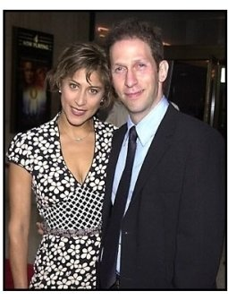 Tim Blake Nelson and wife at the O Othello premiere
