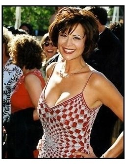 Catherine Bell at the 2000 Creative Arts Emmys