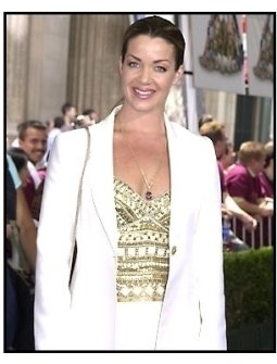 Claudia Christian at the Atlantis premiere