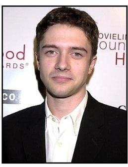 Topher Grace at the 2001 Movieline Young Hollywood Awards