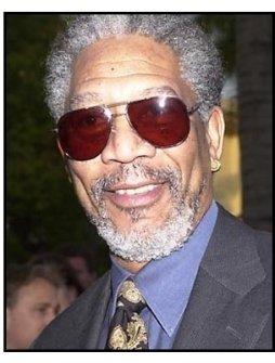 Morgan Freeman at the Along Came a Spider premiere