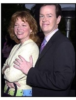 Dylan Baker and date at the Along Came a Spider premiere