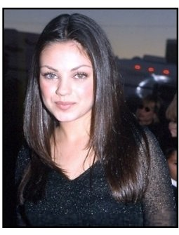 Mila Kunis at the 2000 Hollywood Reporter YoungStar Awards