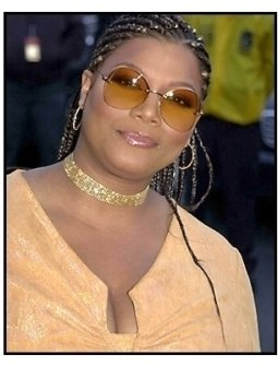 Queen Latifah at the 2001 Soul Train Music Awards
