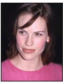 Hilary Swank at the Proof of Life premiere