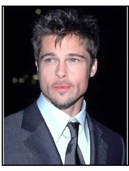 Meet Joe Black premiere:Brad Pitt