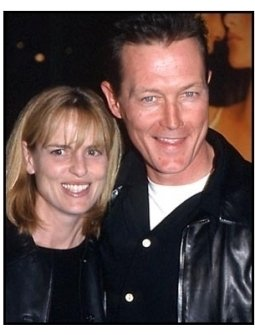 Robert Patrick and date at the All the Pretty Horses premiere