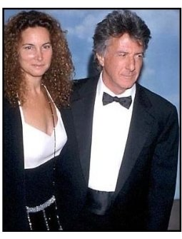 Dustin Hoffman and wife at the 2000 Carousel of Hope