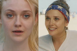 Very Good Girls, Elizabeth Olsen and Dakota Fanning