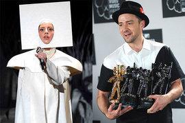 Lady Gaga and Justin Timberlake