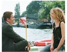 """""""Before Sunset"""" Movie Stills: Ethan Hawke and Julie Delpy"""