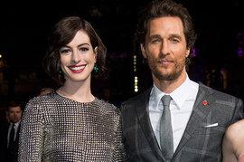 Anne Hathaway, Matthew McConaughey