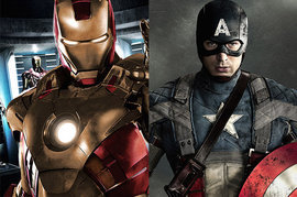 Iron Man 3, Captain America