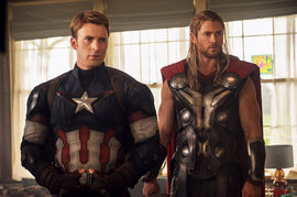 Avengers: Age Of Ultron, Chris Hemsworth, Chris Evans