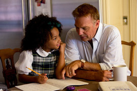 Black or White, Kevin Costner, Jillian Estell