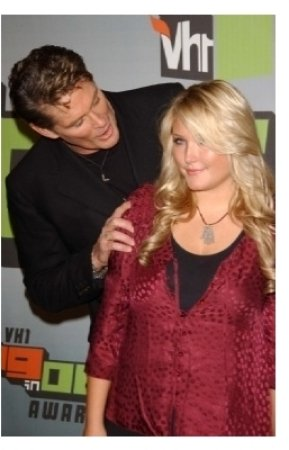 David Hasselhoff and daughter