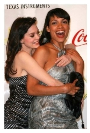 Rose McGowan and Rosario Dawson