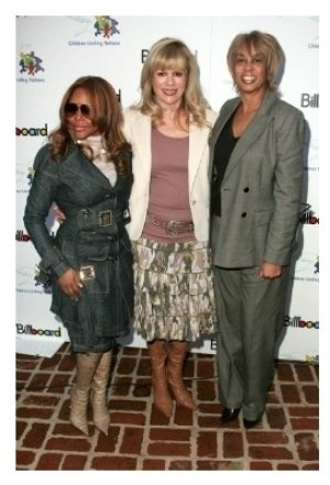 Lil Kim with Daphna Ziman and Gail Mitchell