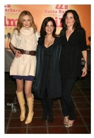 Heather Graham with Sue Kramer and Rachel Shelley